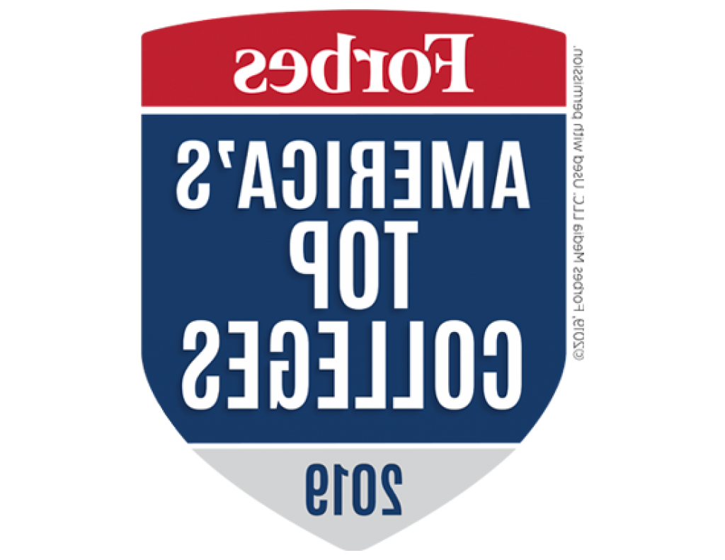 Forbes America's Top 高校 2019 Badge
